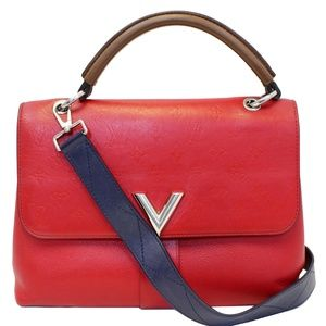 LOUIS VUITTON VERY ONE HANDLE MONOGRAM LEATHER